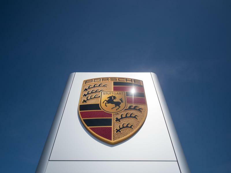 Porsche-Logo - Foto: Marijan Murat