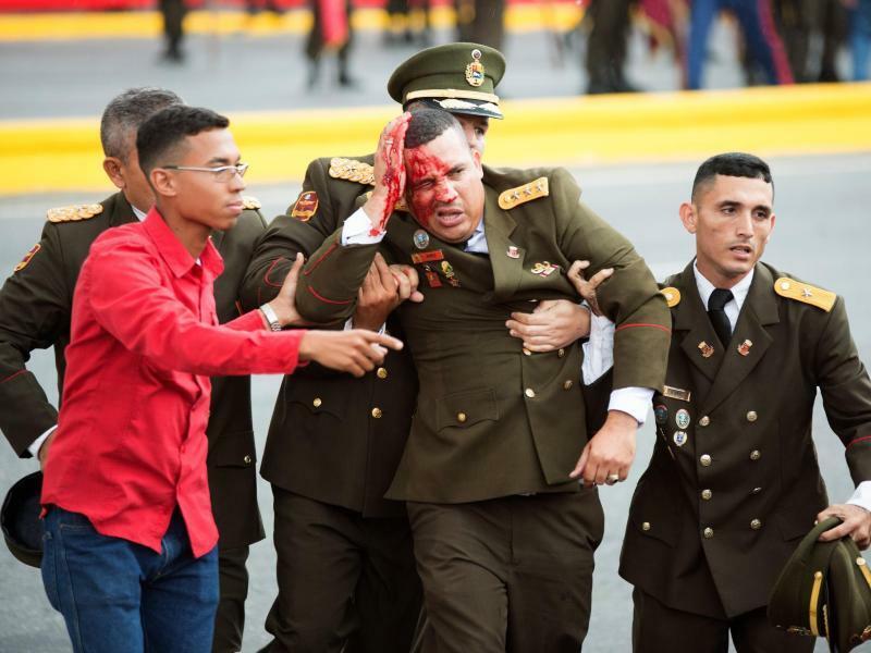 Anschlag in Caracas - Foto: Xinhua