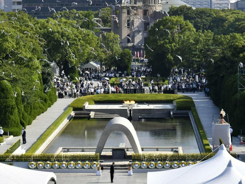 Gedenken in Hiroshima - Foto: Shingo Nishizume/Kyodo News