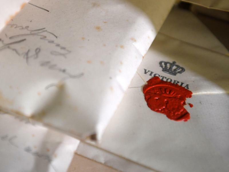 Private Briefe an Kronprinzessin Auguste Victoria - Foto: Ralf Hirschberger