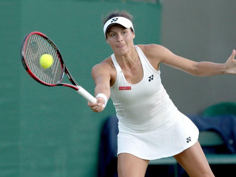 Montreal Die Deutsche Tennisspielerin Tatjana Maria Hat Beim