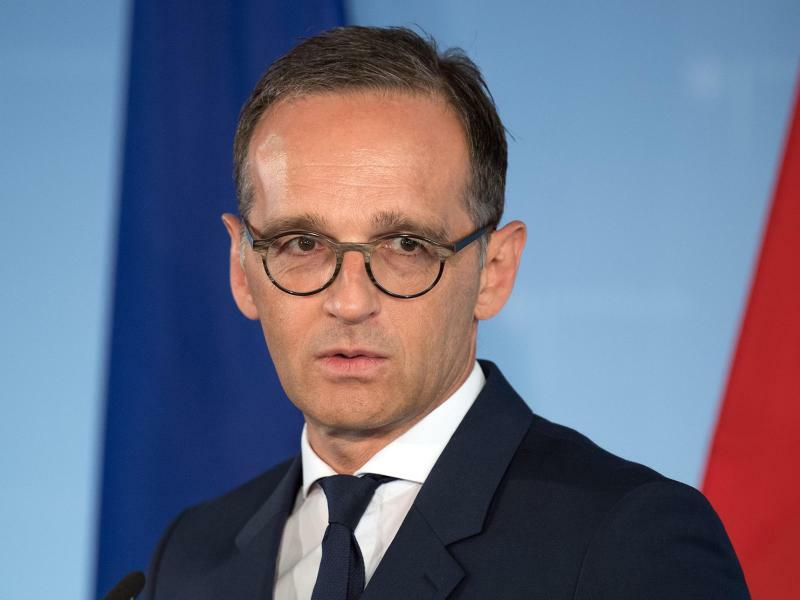 Außenminister Maas - Foto: Soeren Stache