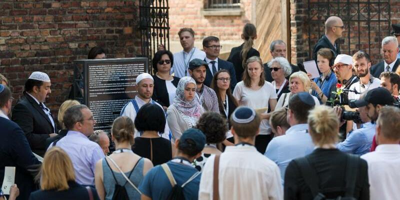 Juden und Muslime in Auschwitz - Foto: Monika Skolimowska