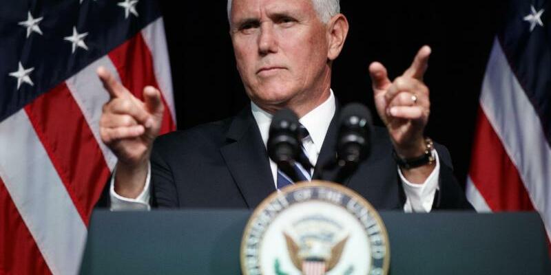 Mike Pence - Foto: Evan Vucci/AP