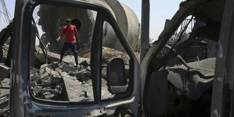 Konflikt in Nahost - Foto: Adel Hana/AP