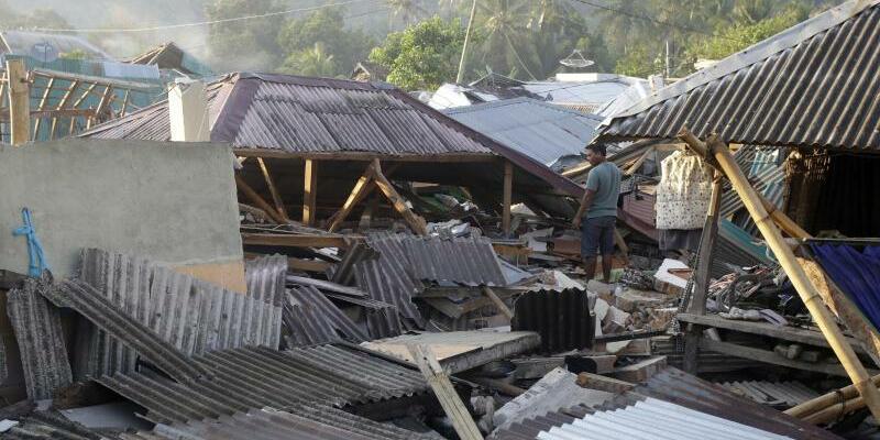 Zerstört - Foto: Firdia Lisnawati/AP