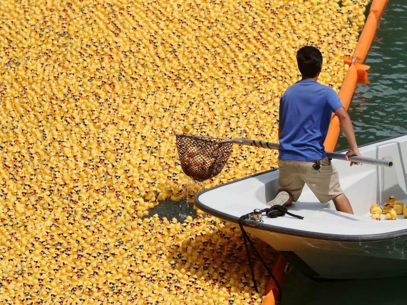 Ducky Derby - Foto: Wang Ping/XinHua