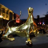 Goldener Leopard des Filmfestivals von Locarno - Foto: Jean-Christophe Bott/Keystone