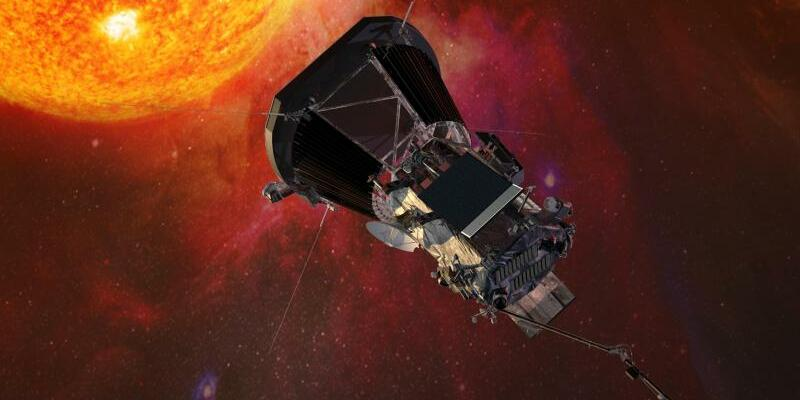 «Parker Solar Probe»-Sonde - Foto: Johns Hopkins University Applied Physics Laboratory/NASA