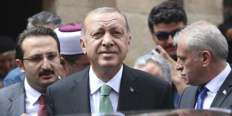 Erdogan - Foto: Pool Presidential Press Service
