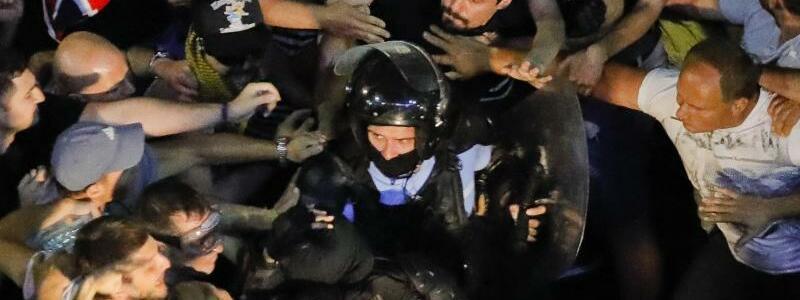 Proteste in Rumänien - Foto: Vadim Ghirda/AP