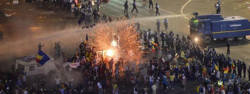 Proteste in Bukarest - Foto: Andreea Alexandru/AP