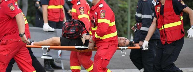 Verletzt - Foto: Raed Krishan/AP