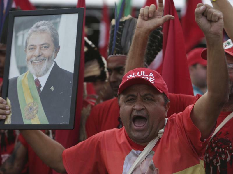 Demonstration - Foto: Eraldo Peres/AP