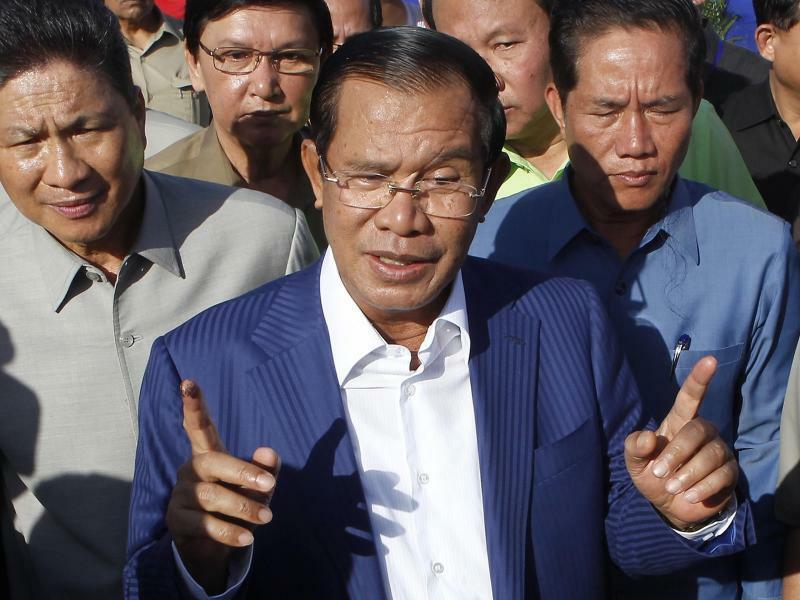 Hun Sen - Foto: Heng Sinith/AP