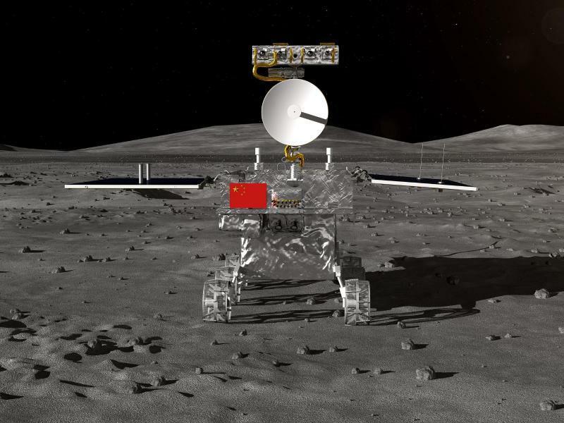 Chinesischer Mondrover - Foto: XinHua