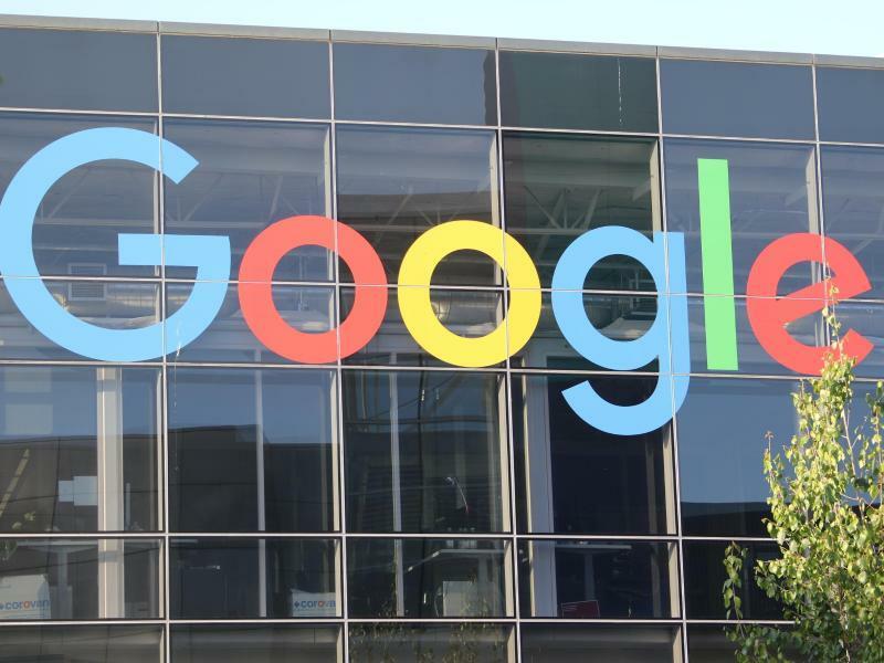 Google in Mountain View - Foto: Christoph Dernbach