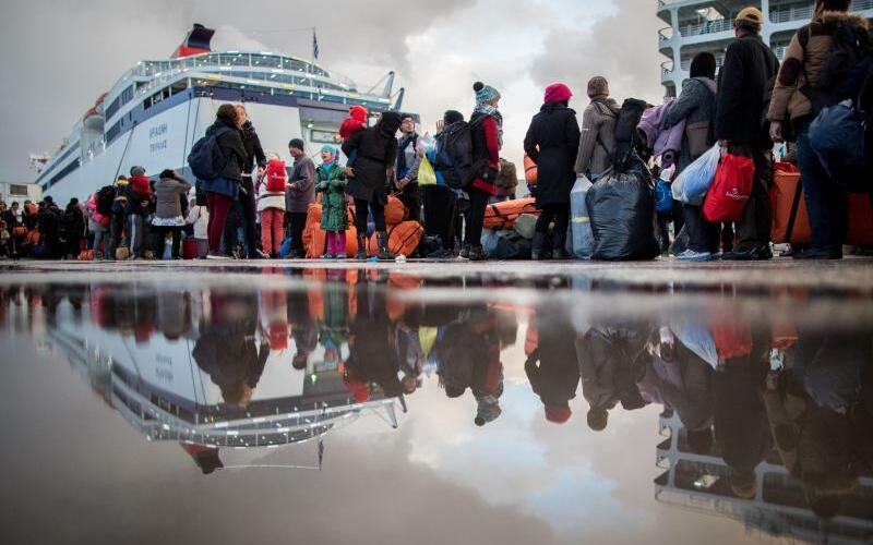 Flüchtlinge auf Lesbos - Foto: Kay Nietfeld/Archiv