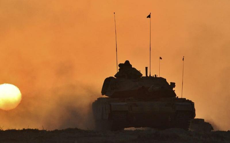 Türkischer Panzer - Foto: Uncredited/Pool Turkish Military
