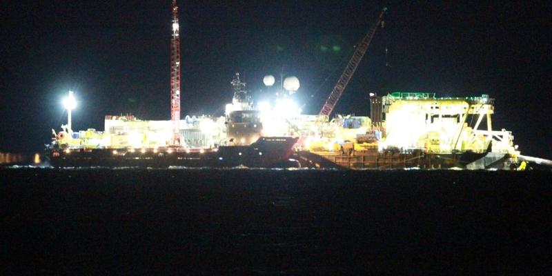 Castoro 10 beim Bau von Nord Stream 2 - Foto: über dts Nachrichtenagentur