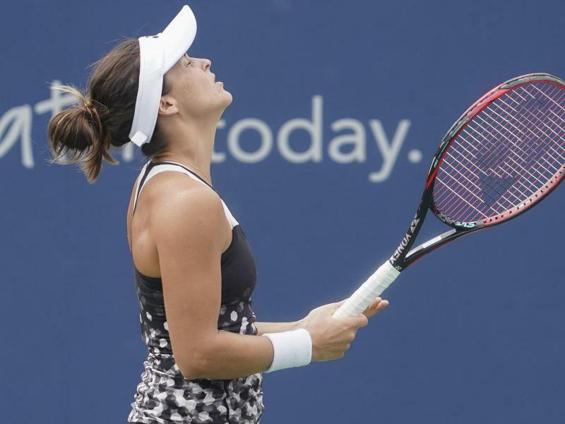 New York Die Deutsche Tennisspielerin Tatjana Maria Hat Den
