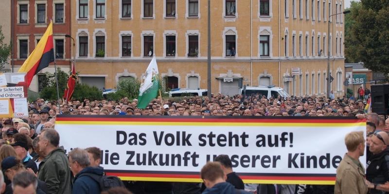 Proteste in Chemnitz am 30.08.2018 - Foto: über dts Nachrichtenagentur
