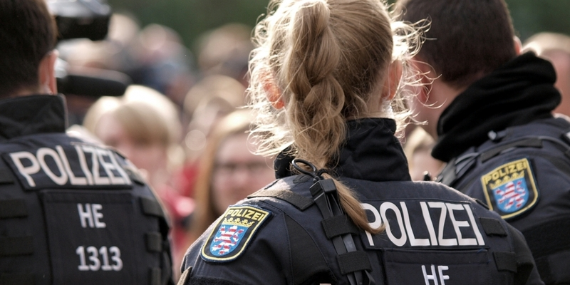 Polizei bei Protesten in Chemnitz - Foto: über dts Nachrichtenagentur