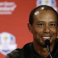 Tiger Woods - Foto: Golf-Star Tiger Woods wird beim diesjährigen Ryder Cup zum ersten Mal seit 2012 wieder für das US-Team dabei sein. Foto:Matt slocum/AP
