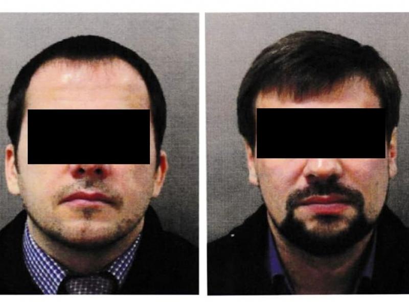 Gesuchte Russen Alexander P. and Ruslan B. - Foto: Met Police,  Text: über dts Nachrichtenagentur