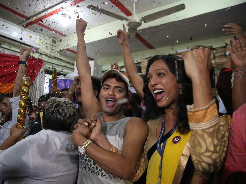 Jubel - Foto: Rafiq Maqbool/AP