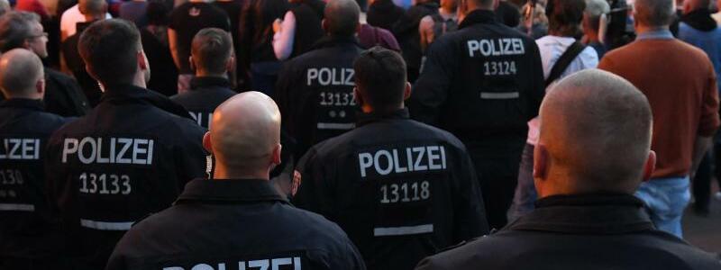 Kundgebung in Köthen - Foto: Hendrik Schmidt