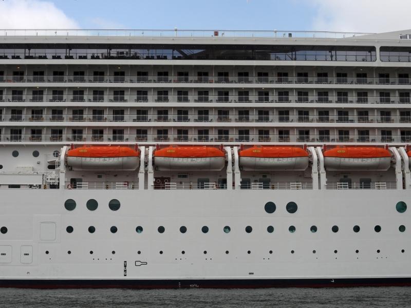 Kreuzfahrtschiff mit Rettungsbooten - Foto: über dts Nachrichtenagentur