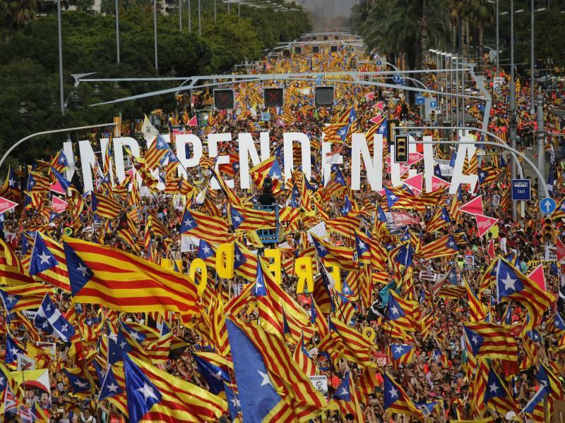 «Independència» - Foto: Emilio Morenatti/AP