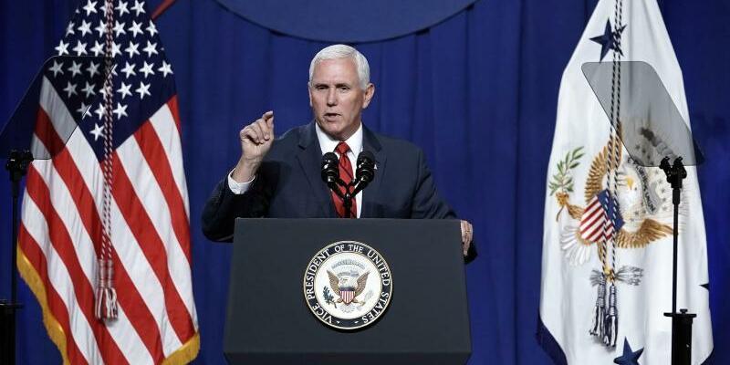 Mike Pence - Foto: David J. Phillip/AP