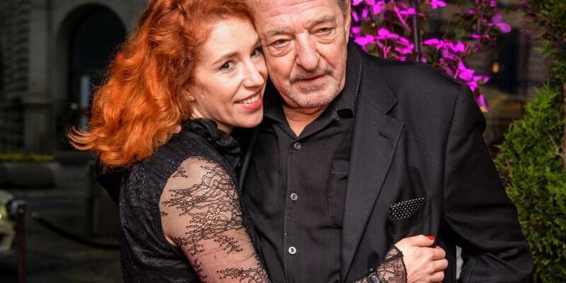 Ralph Siegel & Laura Käfer - Foto: Matthias Balk
