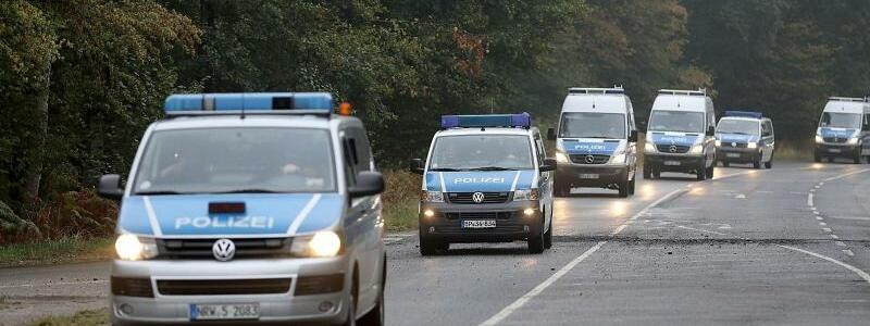 Polizeifahrzeuge - Foto: Oliver Berg