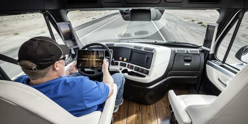 Freightliner Inspiration Truck - Foto: Daimler AG- Global Communicatio/Illustration