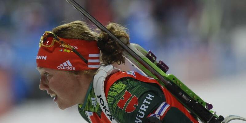 Laura Dahlmeier - Foto: Sergei Grits/AP