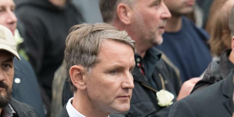 Höcke und Bachmann - Foto: Ralf Hirschberger