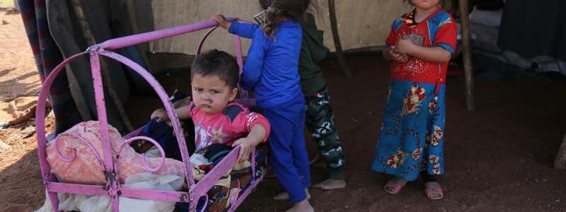 Flüchtlinge in Idlib - Foto: Anas Alkharboutli