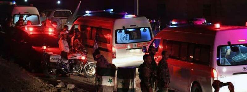 Evakuierungen in Syrien - Foto: SANA/AP