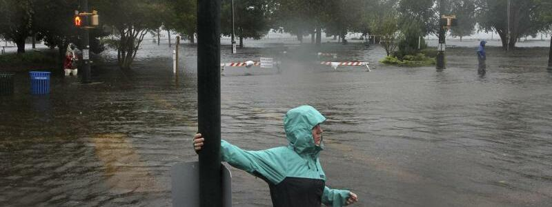 Sturmflut in New Bern - Foto: Gray Whitley/Sun Journal/AP