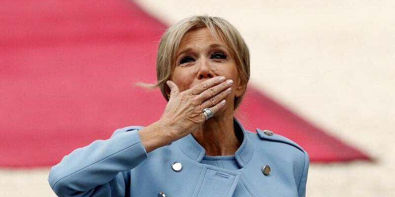 Brigitte Macron - Foto: Yoan Valat/EPA/AP