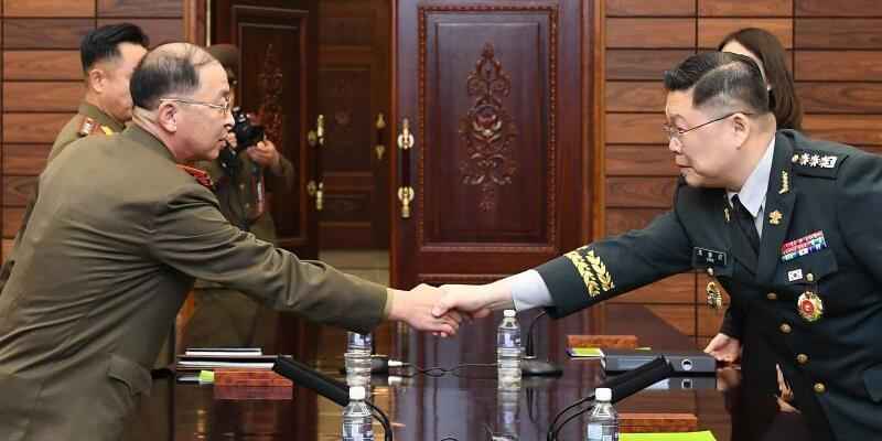 Annäherung zwischen Süd- und Nordkorea - Foto: XinHua