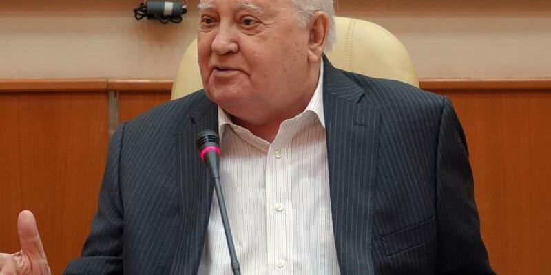 Michail Gorbatschow in Moskau - Foto: Friedemann Kohler
