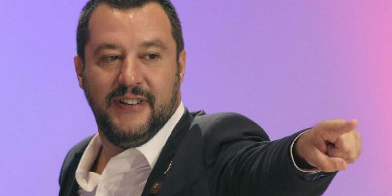 Matteo Salvini - Foto: Ronald Zak/AP