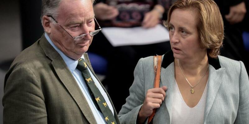 Im Bundestag - Foto: Kay Nietfeld
