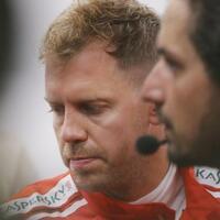 Handicap - Foto: Sebastian Vettel konnte das zweite Training nicht beenden, wodurch er mit einem Nachteil ins Qualifying geht. Foto:Vincent Thian/AP