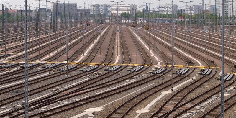 Gleisanlage in Halle (Saale) - Foto: über dts Nachrichtenagentur