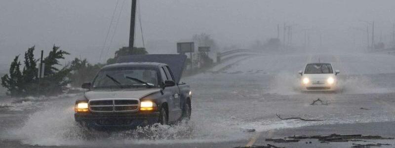 Hurrikan «Florence» - Foto: Tom Copeland/AP